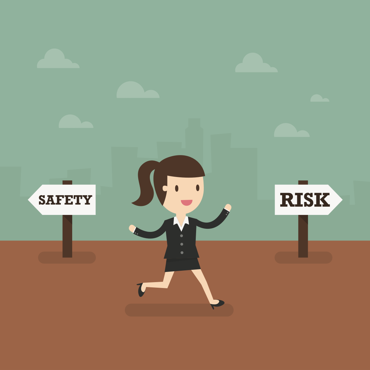difference between avoiding a risk and accepting a risk 1 introductionwomen typically are thought to be more risk averse than men women engage in less risky or aggressive behavior and are more averse to risk.